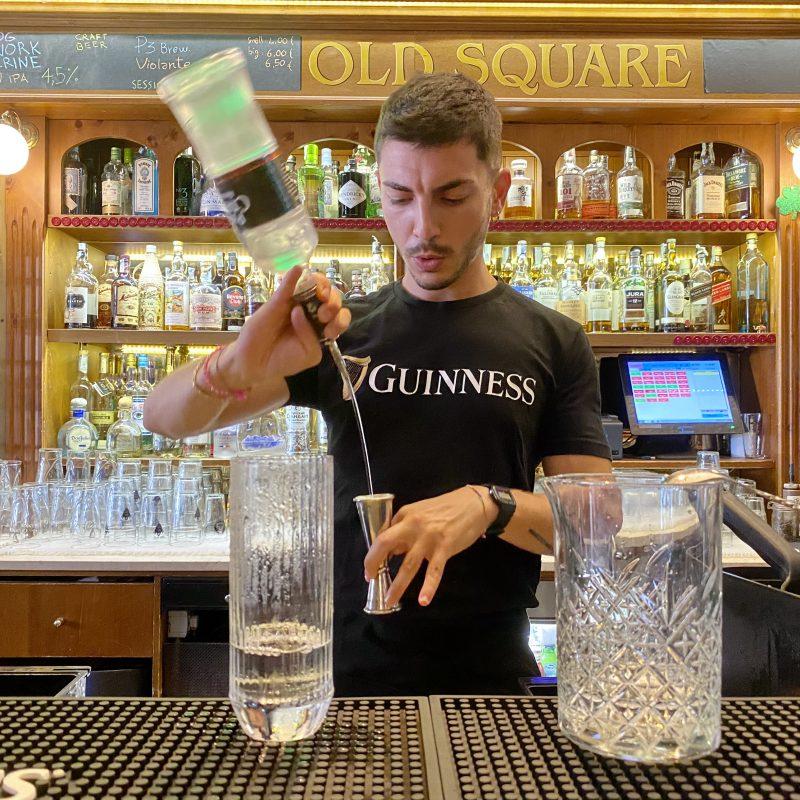 Luca Picciau e i suoi cocktail firmati Old Square